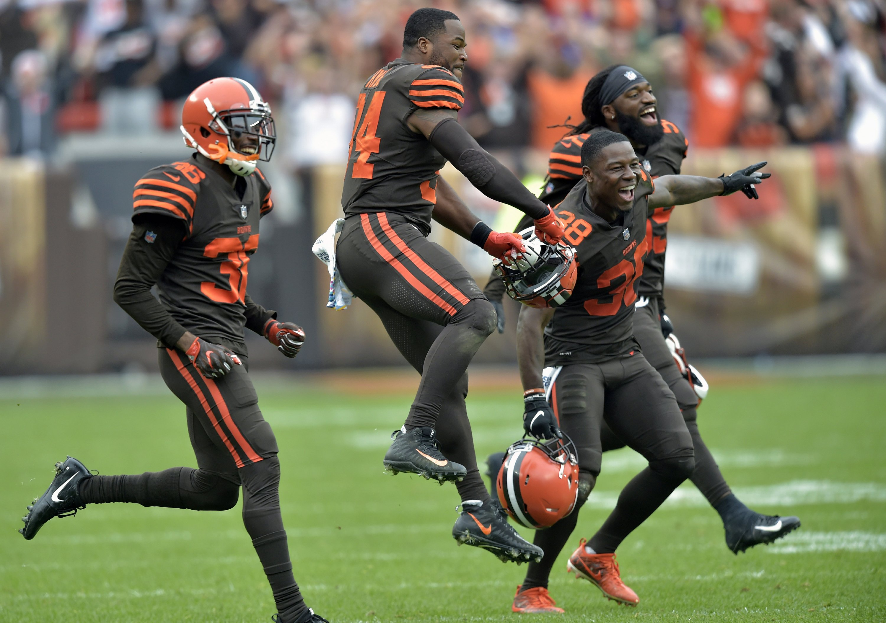 3 s a charm  Browns edge Ravens 12-9 in overtime on late FG 7aac33549