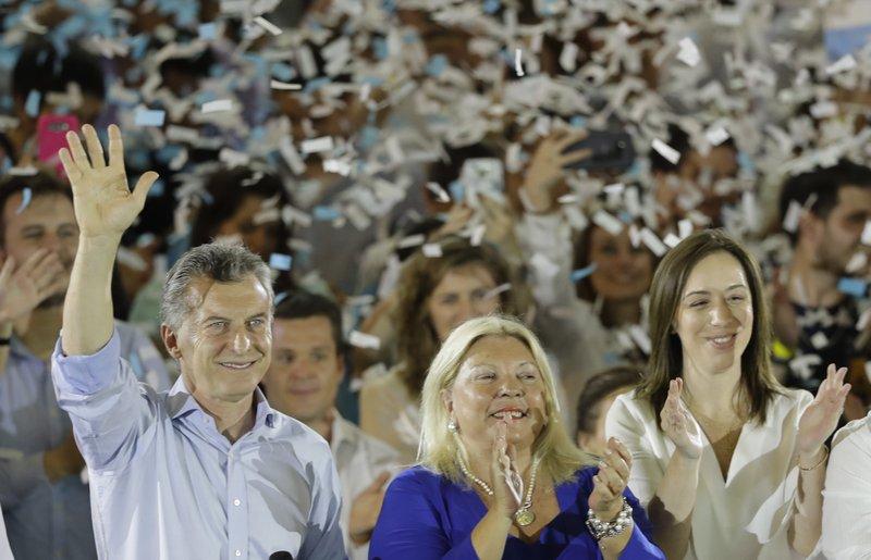 Mauricio Macri, Elisa Carrio, Maria Eugenia Vidal
