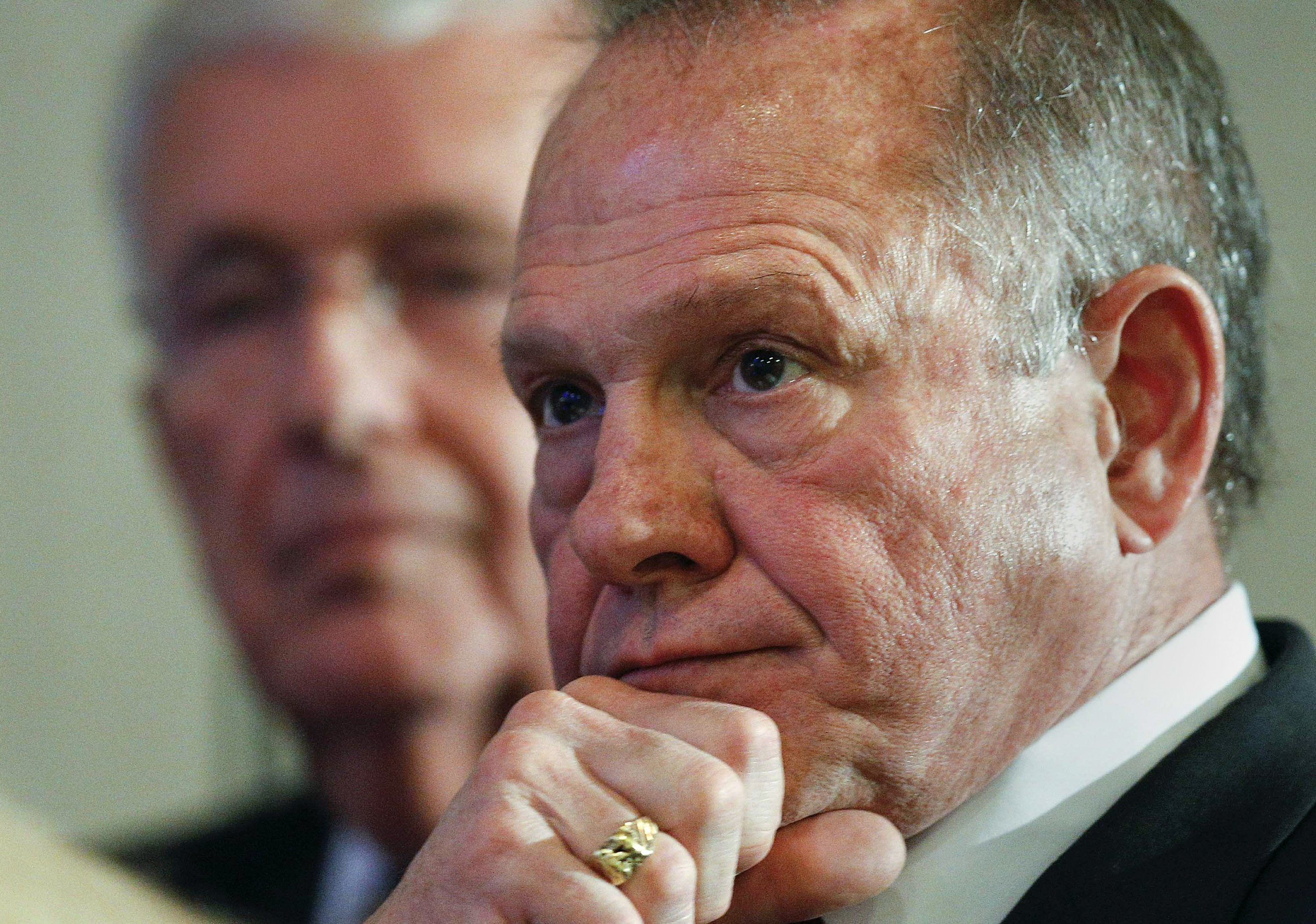 Moore targets female accusers as critics decry intimidation