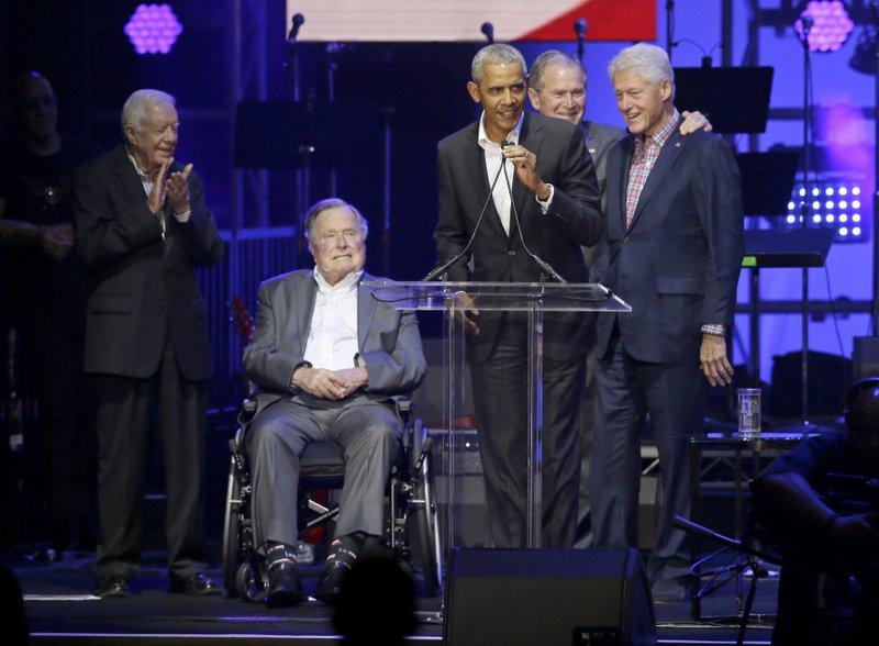 Barack Obama, George Bush, George W. Bush, Jimmy Carter, Bill Clinton