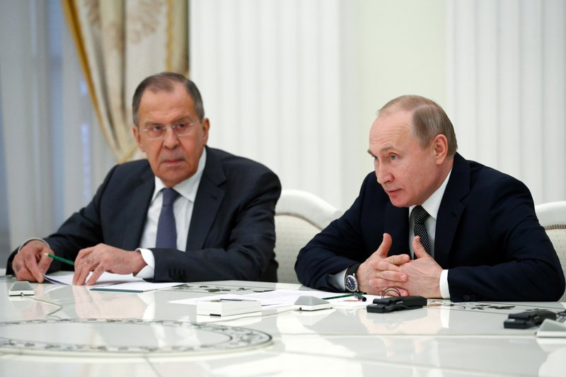 Vladimir Putin, Sergey Lavrov