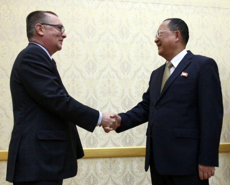 Ri Yong Ho, Jeffrey Feltman