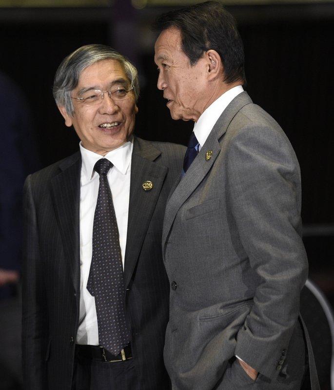 Haruhiko Kuroda, Taro Aso