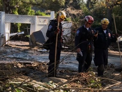 Search and Rescue Efforts Continue in California