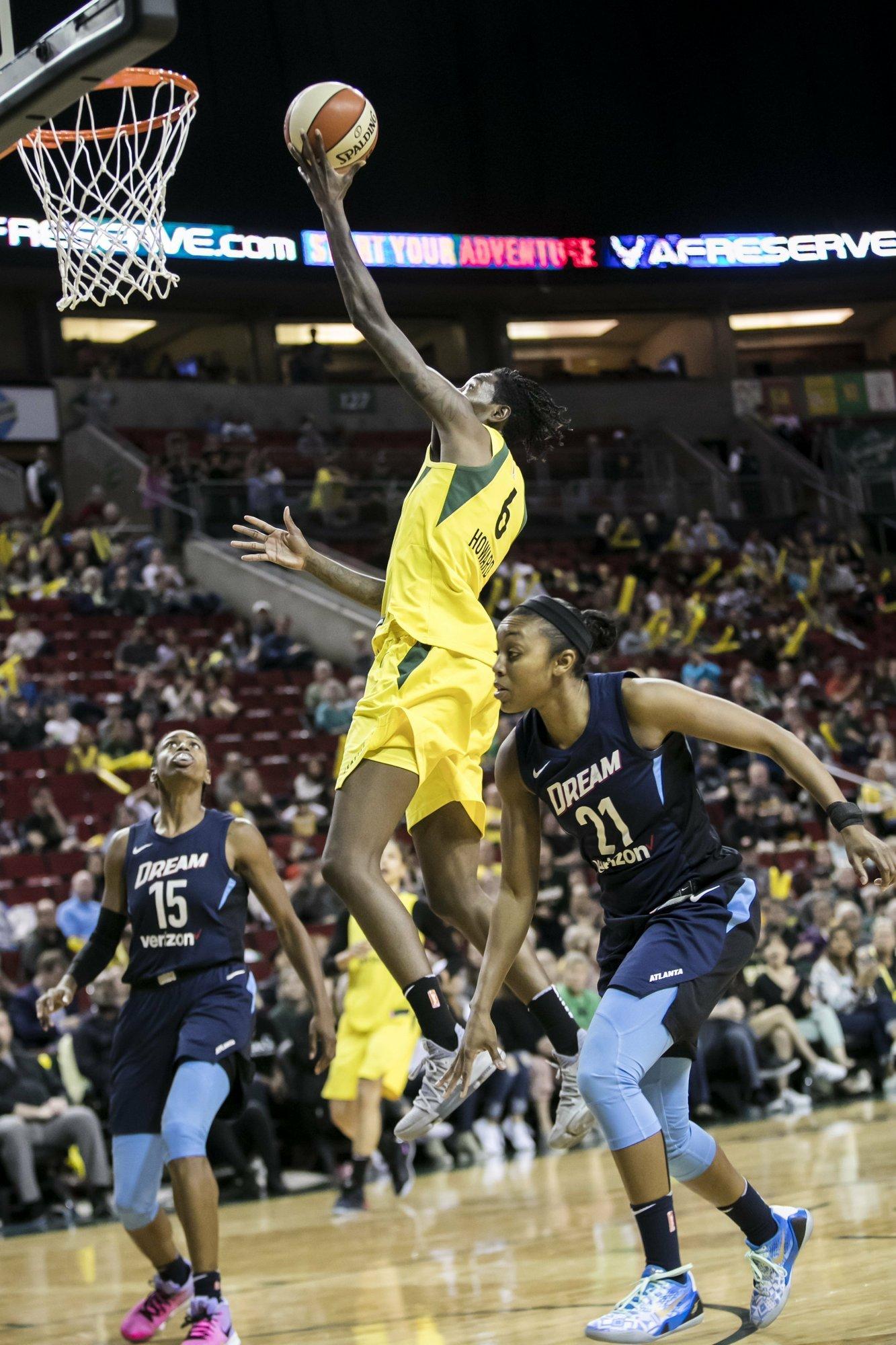 WNBA GM Survey: Storm Best Home Court Advantage 2013