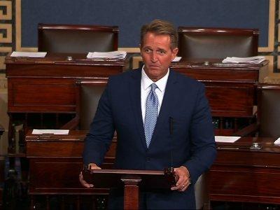 GOP Senator Jeff Flake Says He Won't Run in 2018