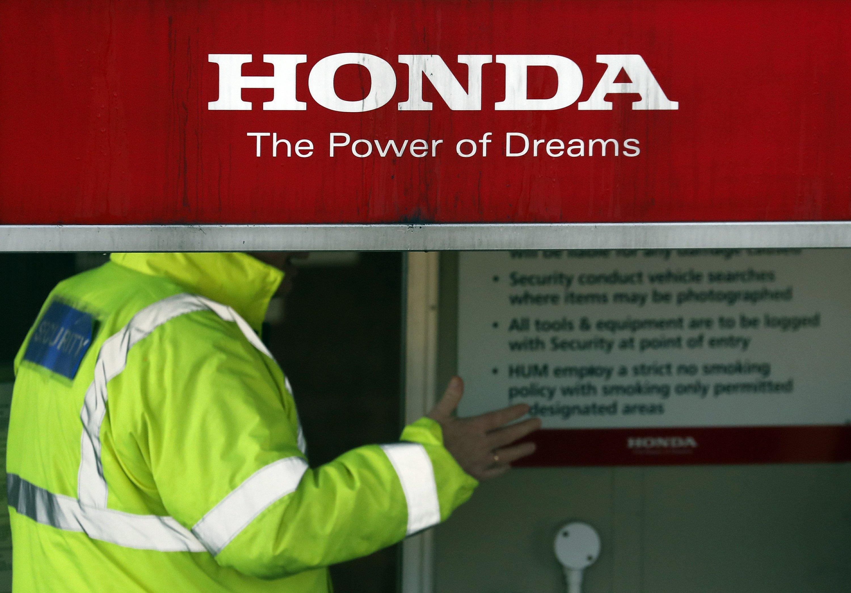 Honda to shut plant in Brexit-shaken Britain