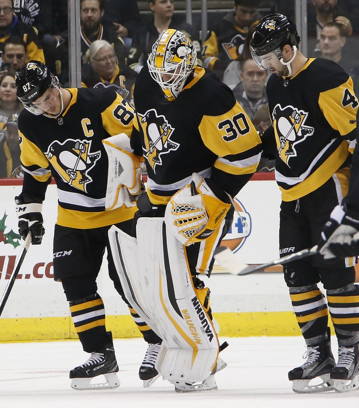 Sidney Crosby, Justin Schultz, Matt Murray