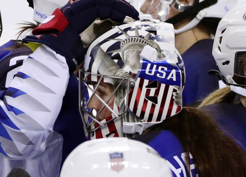 Olympics Give Goalies Chance To Paint Country All Over Masks