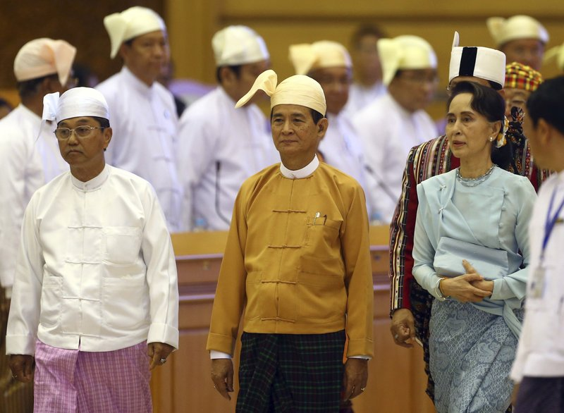 Win Myint, Aung San Suu Kyi, Myint Swe