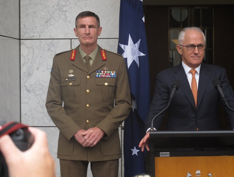 Malcolm Turnbull, Angus Campbell