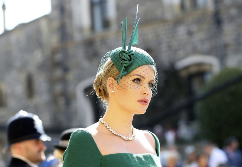 471b95291a84f It s all about the well-plumed hats for royal wedding guests