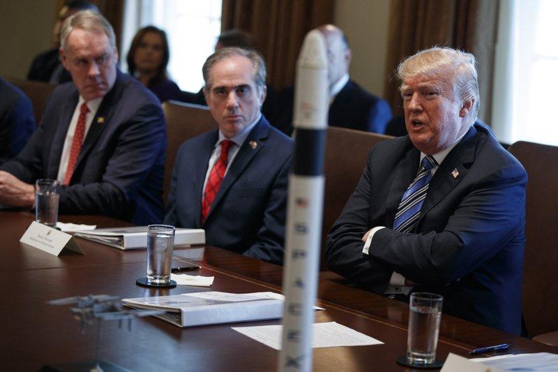 Donald Trump, Ryan Zinke, David Shulkin