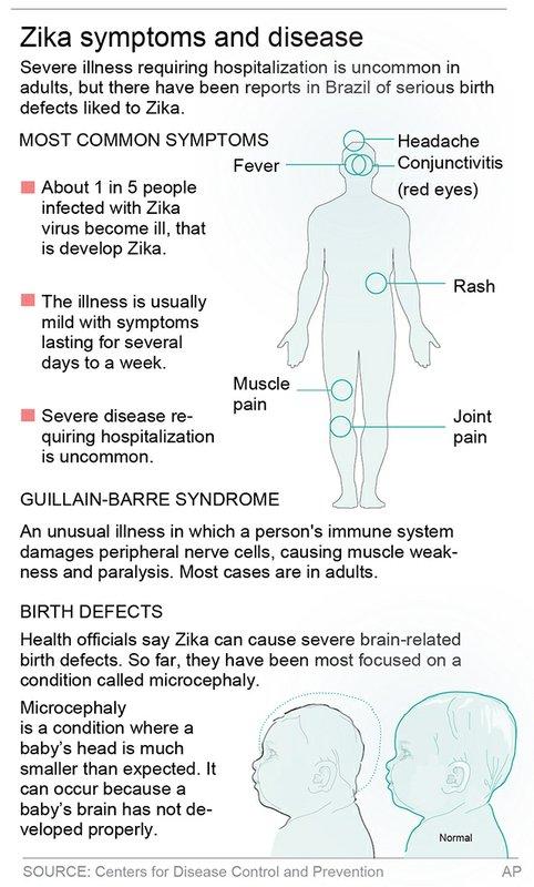ZIKA SYMPTOMS DISEASE
