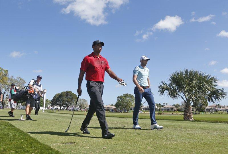 Tiger Woods, Sam Burns