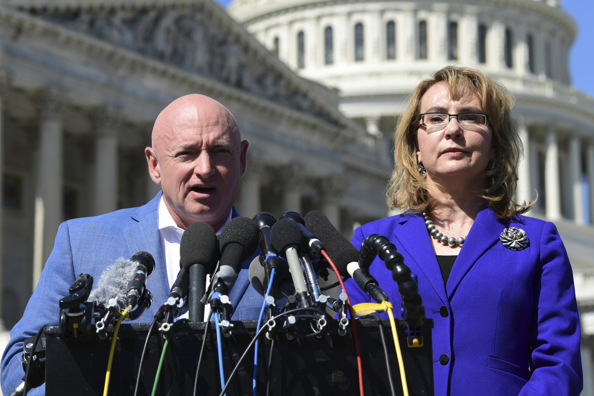 Retired astronaut Mark Kelly kicks off Arizona Senate bid