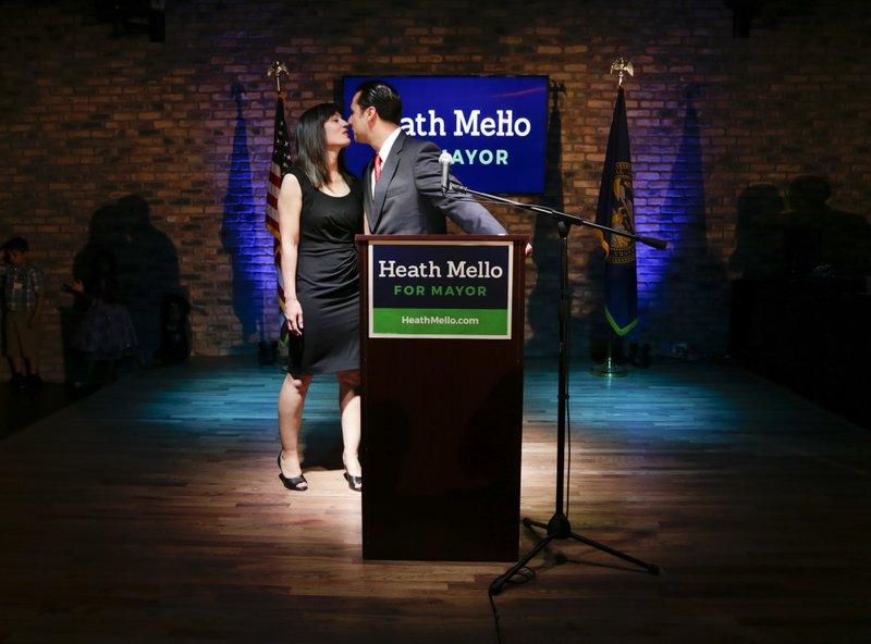 Heath Mello, Catherine Mello