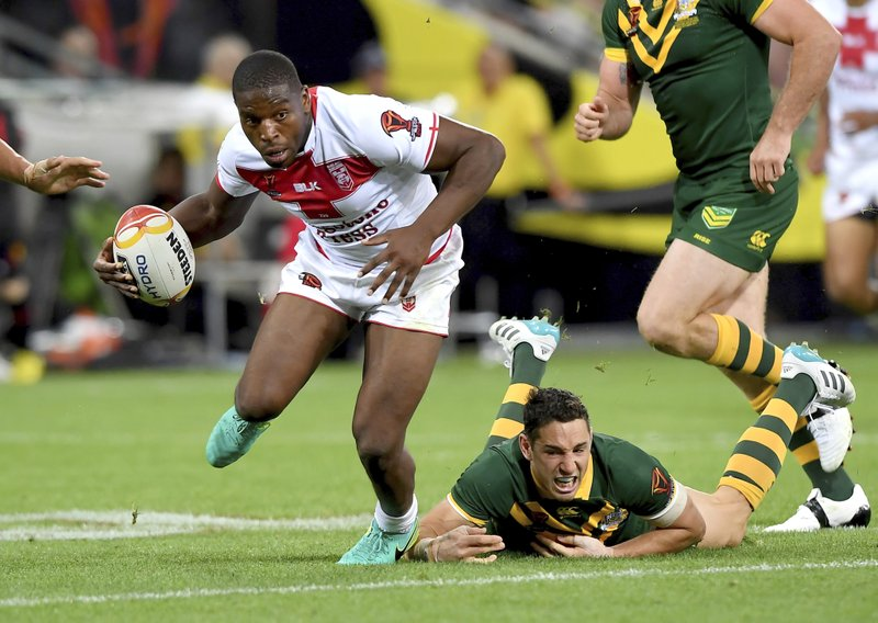 Jermaine McGillvary, Billy Slater