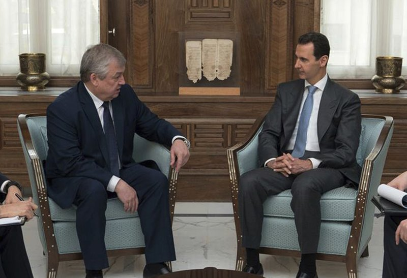Bashar Assad, Alexander Lavrentiev