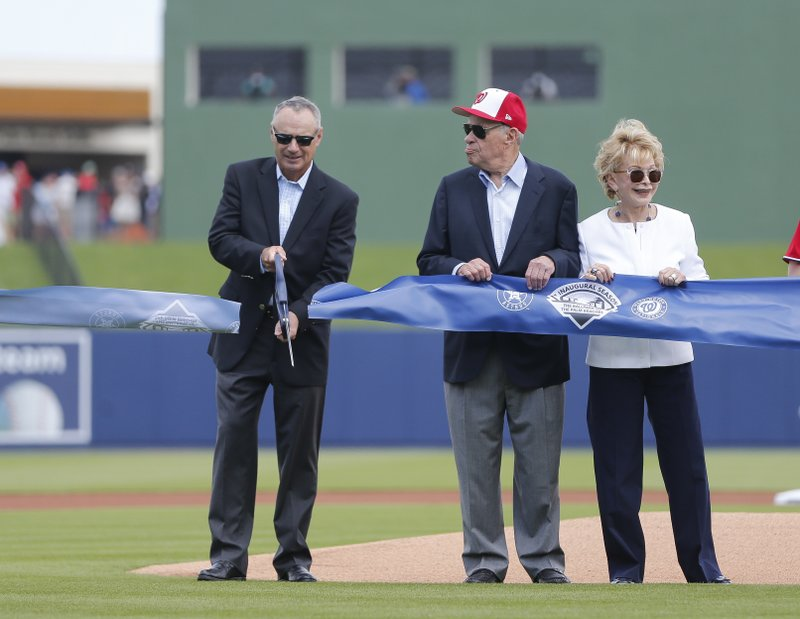 Nationals, Astros open new $150 million spring training site