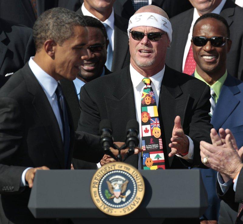 Barack Obama, Jim McMahon