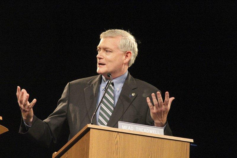 Mead Treadwell, Senate-Alaska-Debate
