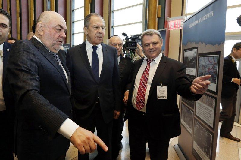 Sergei Lavrov, Yuri Kanner, Ilya Altma