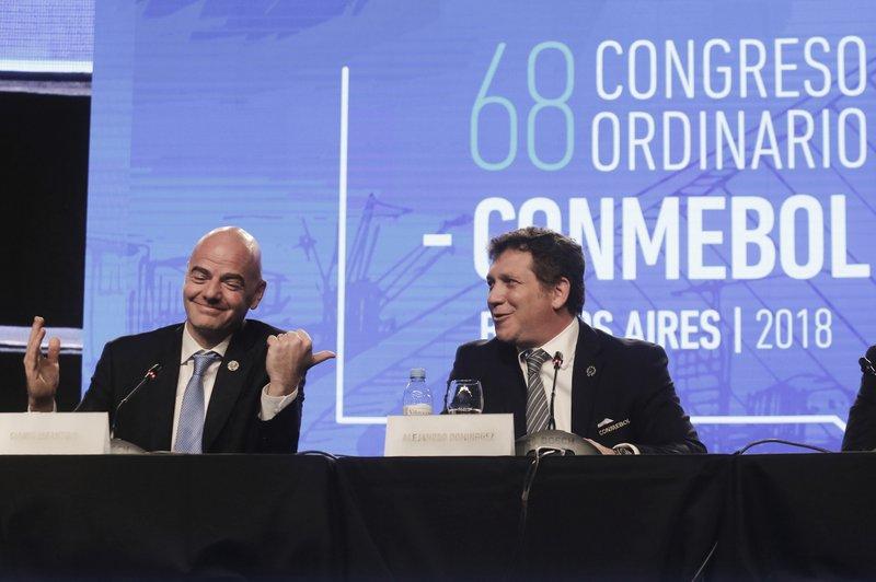 Gianni Infantino, Alejandro Dominguez