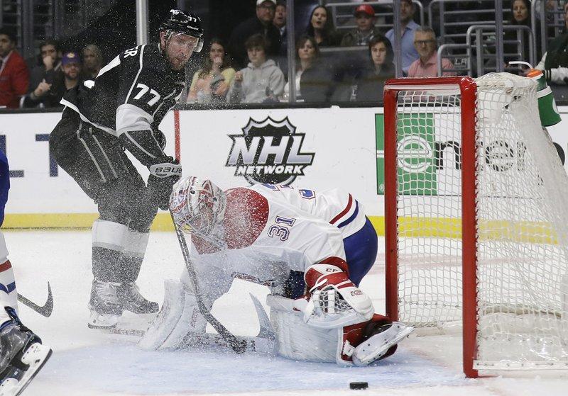 Price Ties Plante On Wins List Canadiens Beat Kings 3 1