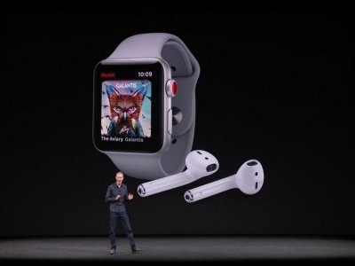 Apple's New Watch Is A Phone