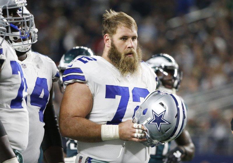 Cowboys center Travis Frederick has neurological disorder