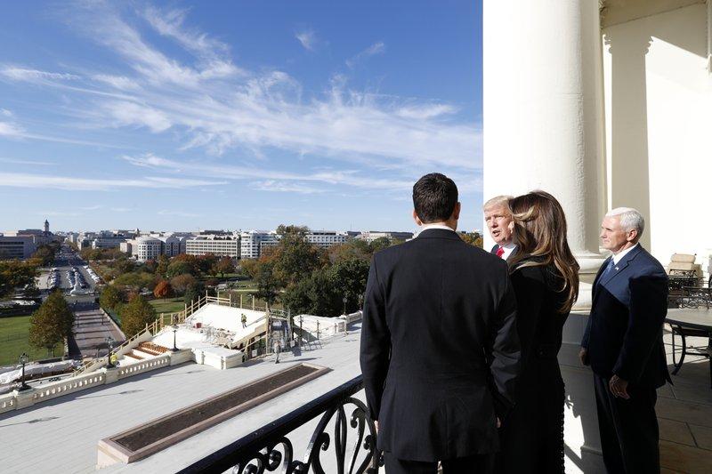 Donald Trump, Paul Ryan, Milania Turmp, Mike Pence