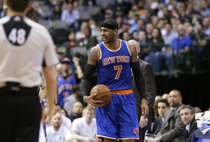 LeBron out of Olympics, leaving Melo alone to chase history