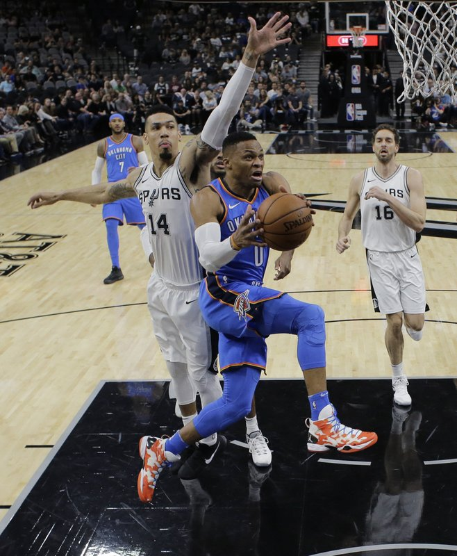 Russell Westbrook, Danny Green