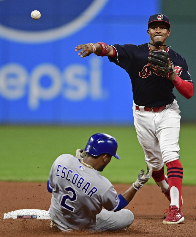 Francisco Lindor, Alcides Escobar