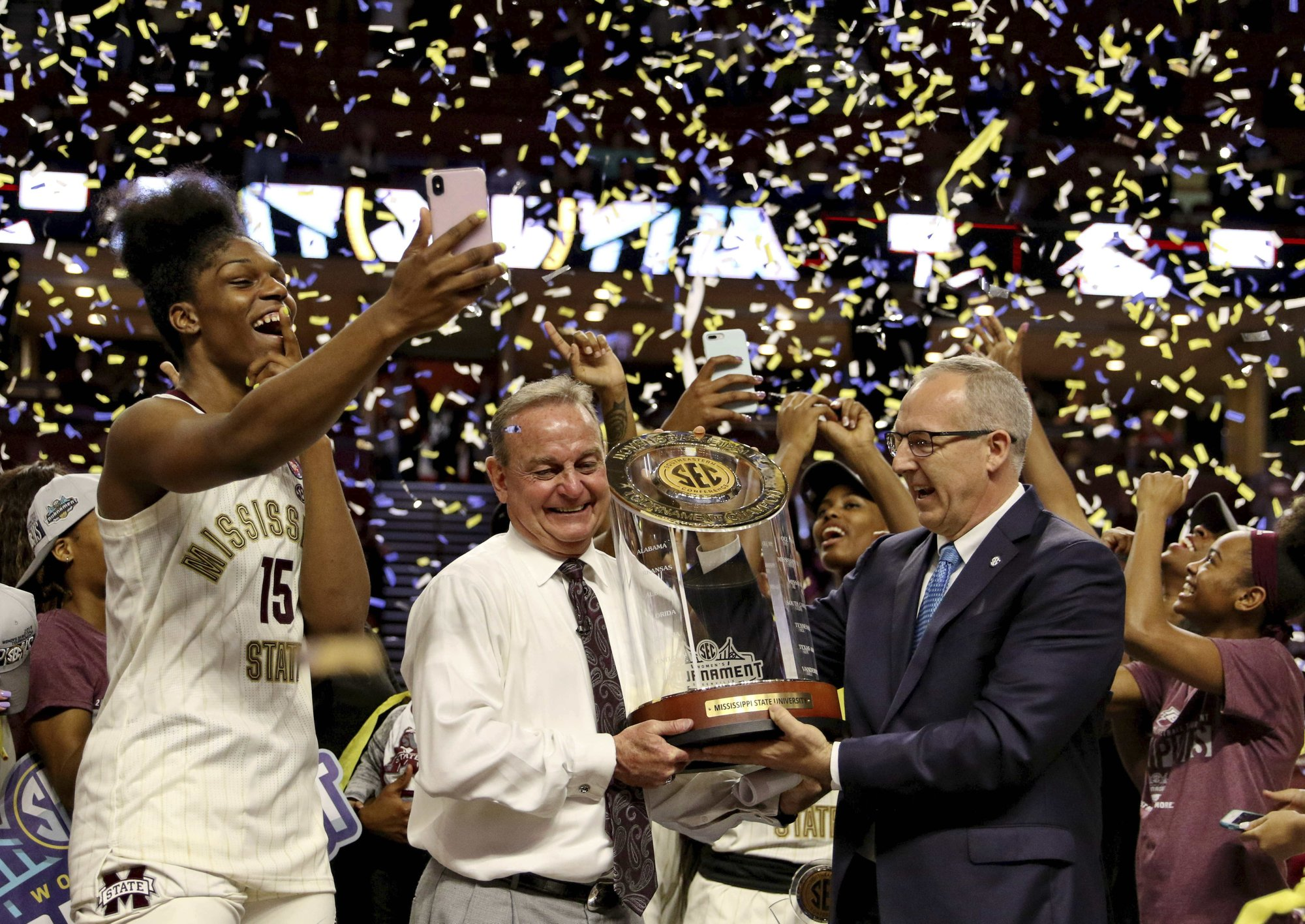 Third try: Mississippi St aims for title after close calls