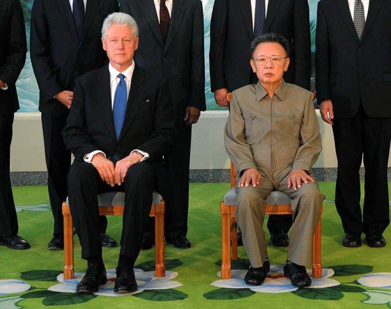 Bill Clinton, Kim Jong Il