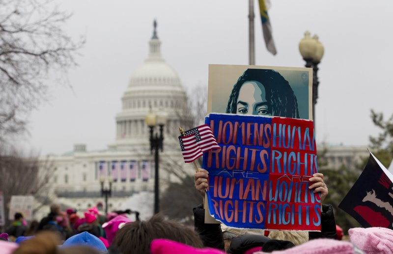 The Latest Protesters Still Marching Through Washington - Womens march map of the us