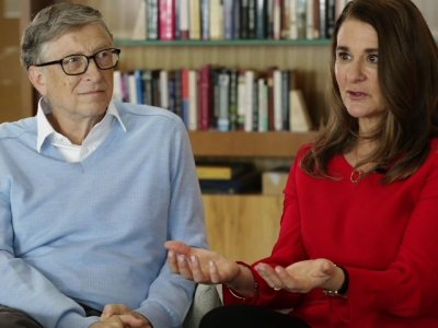 Bill, Melinda Gates Denounce Trump's World View