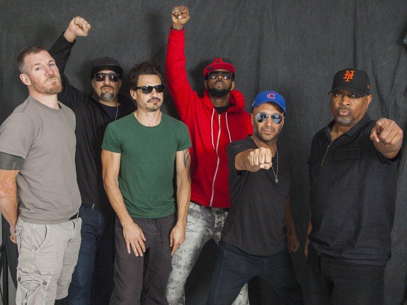 Tim Commerford, B-Real, Brad Wilk, DJ Lord, Tom Morello, Chuck D