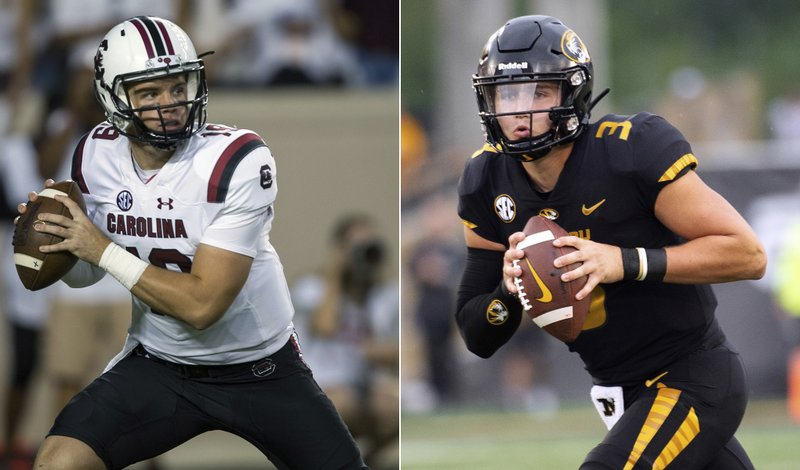 Missouri, South Carolina QBs heading in opposite directions