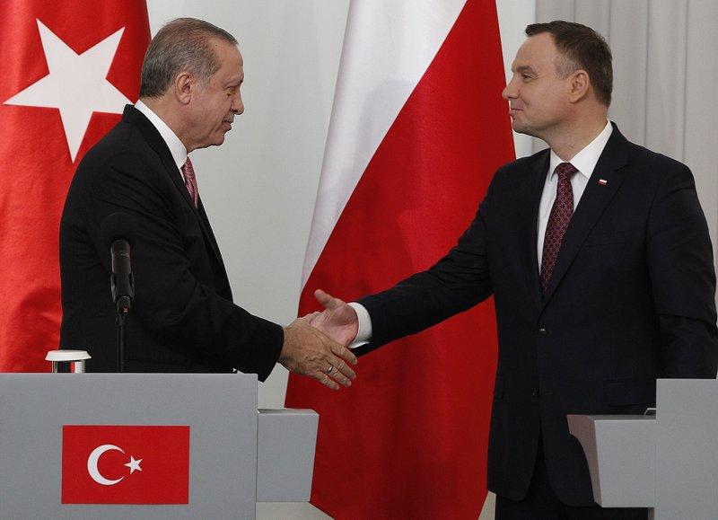 Andrzej Duda, Recep Tayyip Erdogan