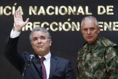 Ivan Duque, Alberto Mejia