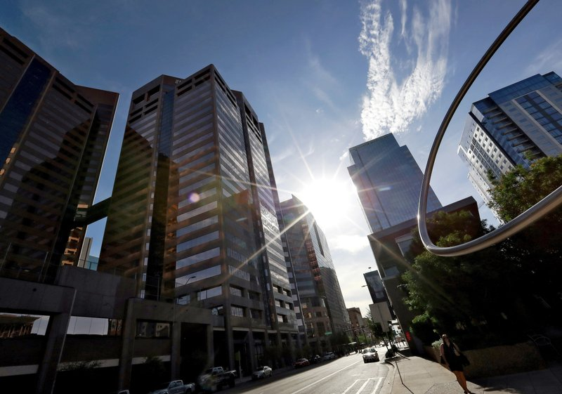 Urban island effect' compounds Phoenix's sweltering heat