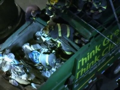 Man Sleeps in Dumpster, Ends Up in Garbage Truck
