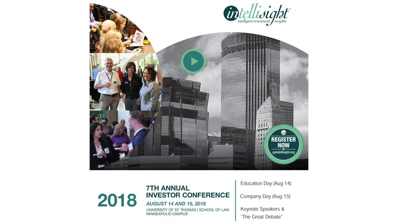 Registration Now Open for 7th Annual Intellisight Conference August 14-15