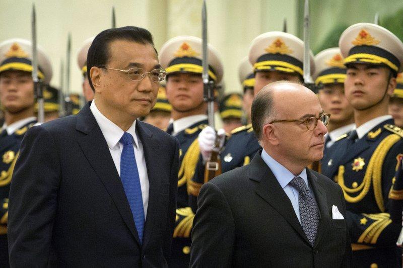 Bernard Cazeneuve, Li Keqiang