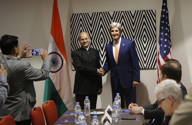 John Kerry, Shri Anil Madhav Dave