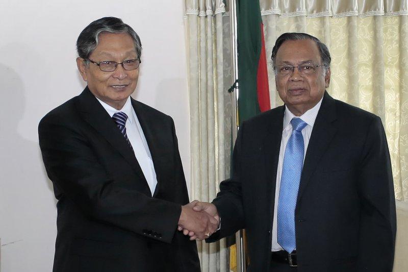 Kyaw Tin, Abul Hassan Mahmud Ali