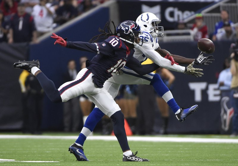 Pierre Desir, DeAndre Hopkins